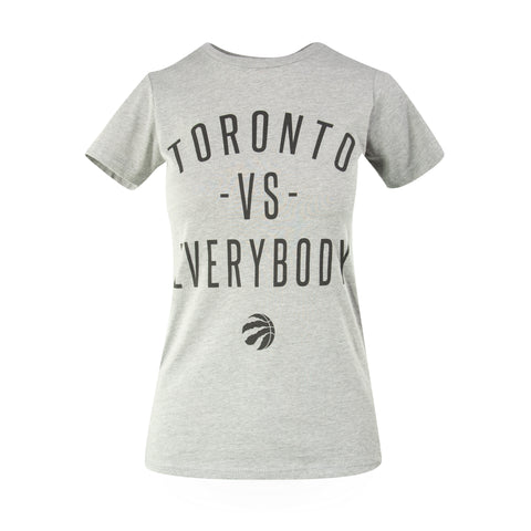 Raptors Peace Collective Ladies 'Toronto vs Everybody' Tee