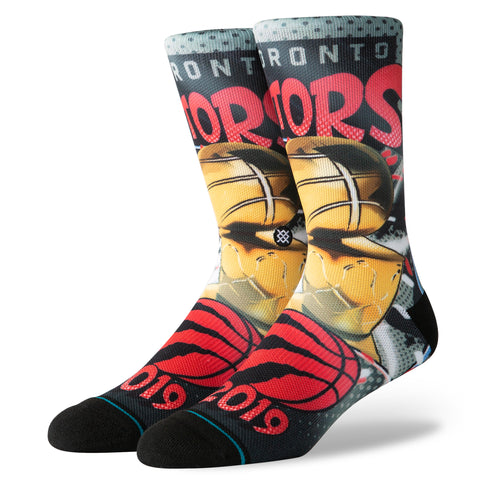 Raptors Men's 2019 NBA Champs Socks