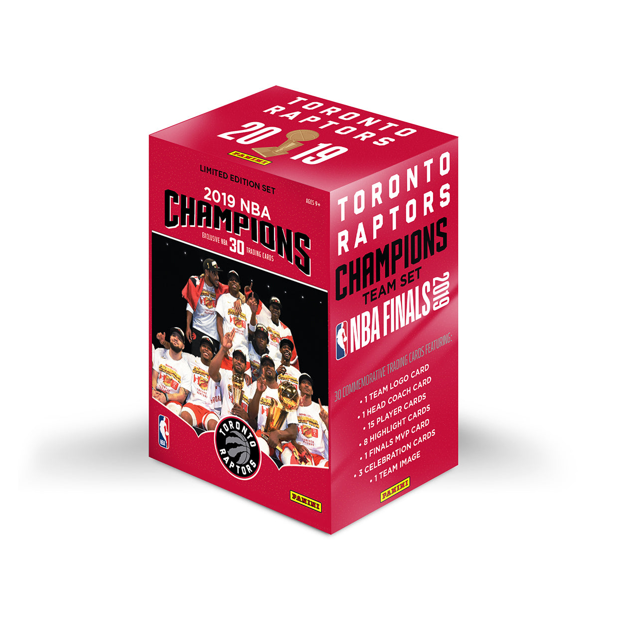 Raptors Panini 2019 NBA Champs 30 Card Team Set