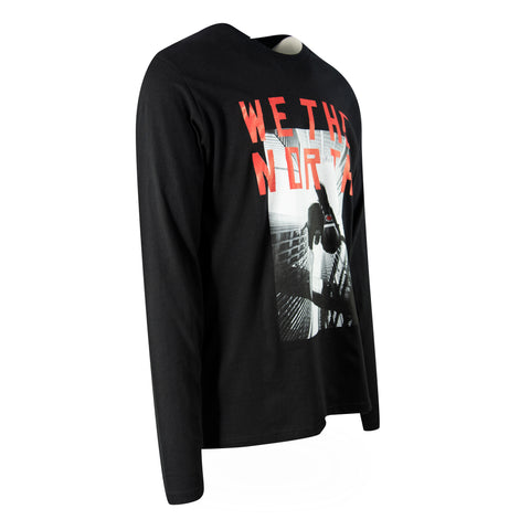 Raptors Mitchell & Ness Men's 2019 Playoffs Stomp Long Sleeve