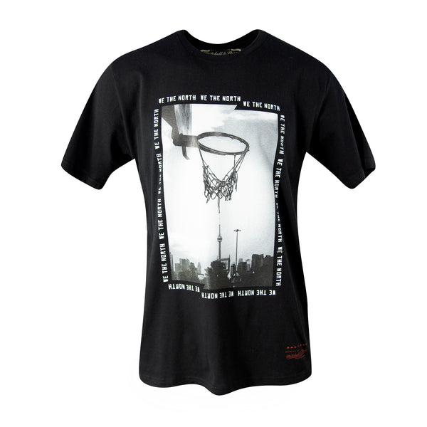 Raptors Mitchell & Ness Men's 2019 Playoffs Hoop City Tee