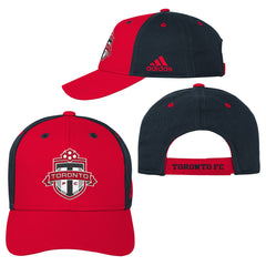 Toronto FC Youth Colourblock Structured Adjustable Hat