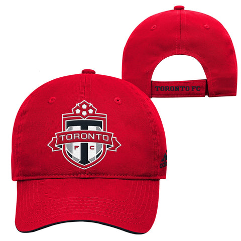 Toronto FC Youth Basic Structured Adjustable Hat