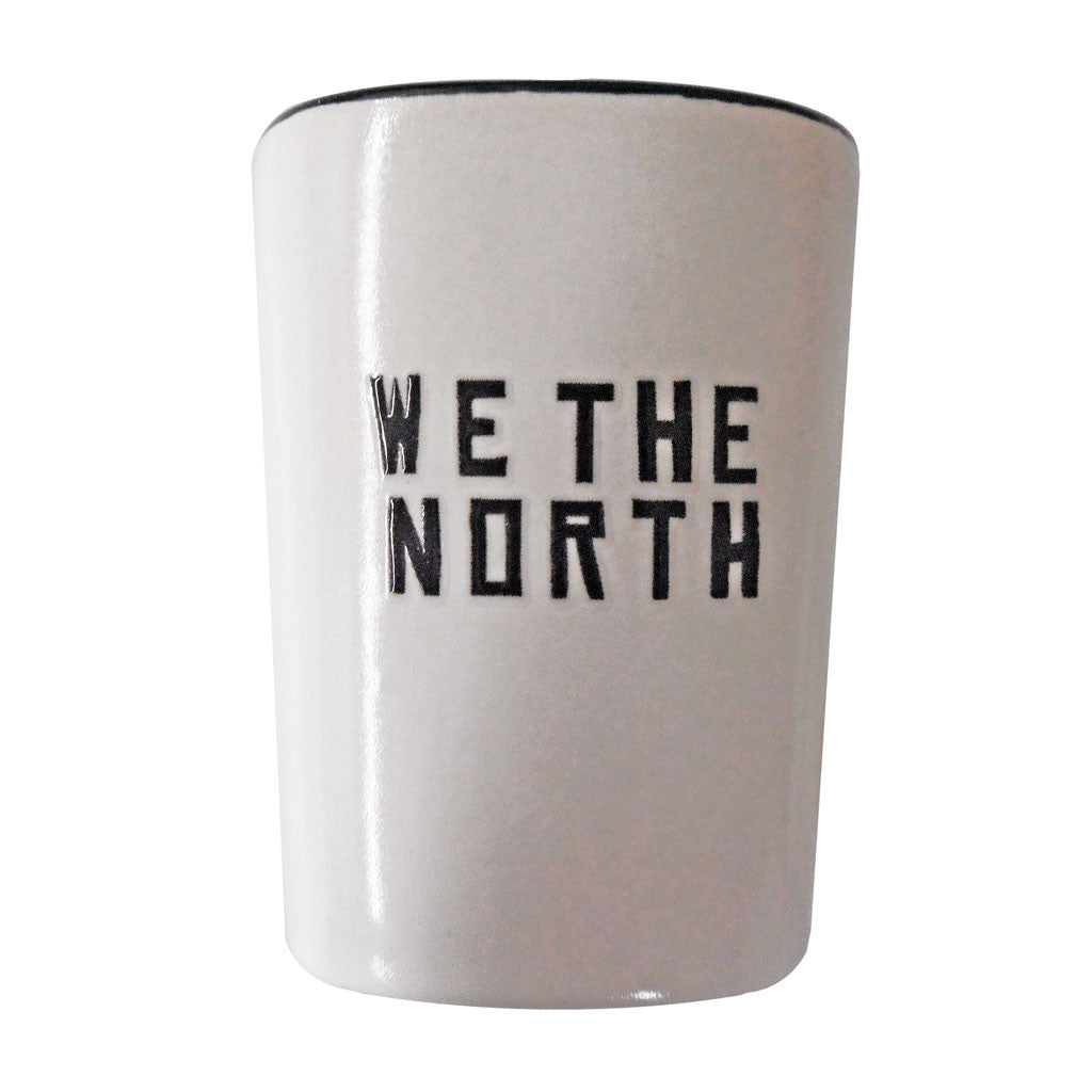 Toronto Raptors We The North 1.5oz. Ceramic Shot w/ Black Inner