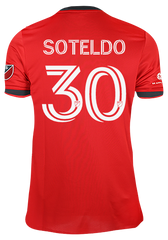 Toronto FC Adidas Men's Authentic 2021 A41 Home Jersey - SOTELDO