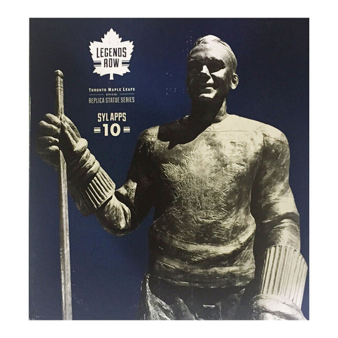 "Toronto Maple Leafs 10"" Apps Legends Row Bronze Replica Figurine"