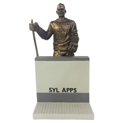 "Toronto Maple Leafs 10"" Apps Legends Row Bronze Replica Figurine - shop.realsports - 1"