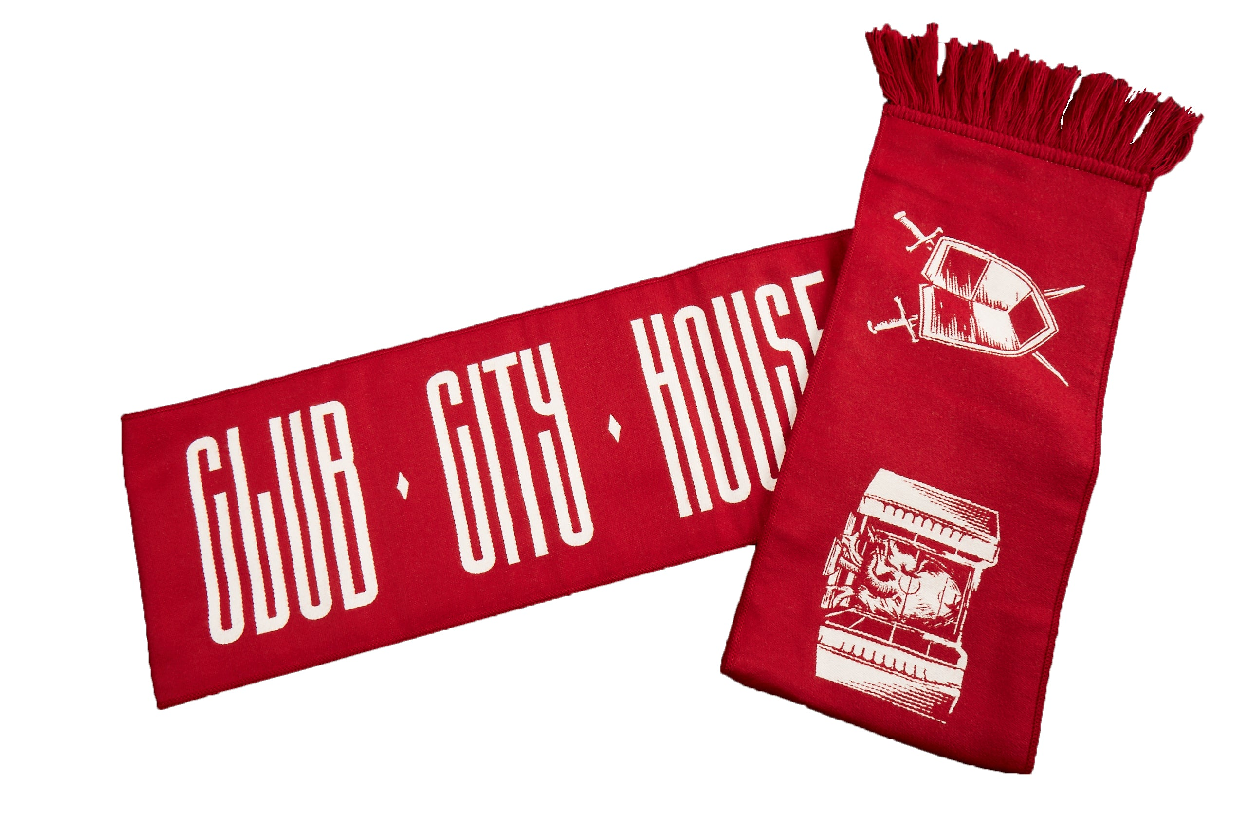 Toronto FC Ruffneck Red Assembly Scarf
