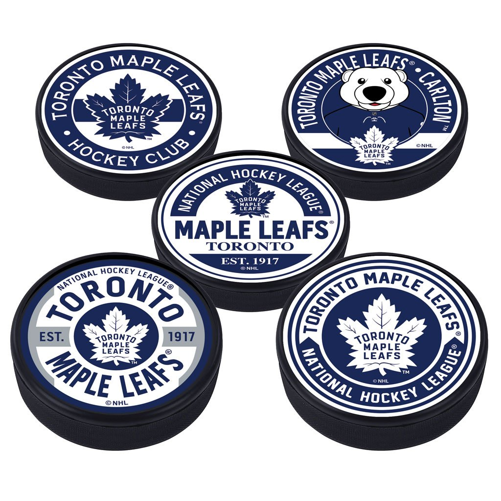 Toronto Maple Leafs 5 Puck Pack