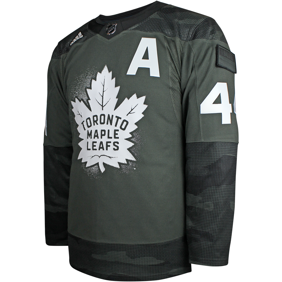 Maple Leafs Adidas Men's Authentic Practice Camo Jersey - RIELLY