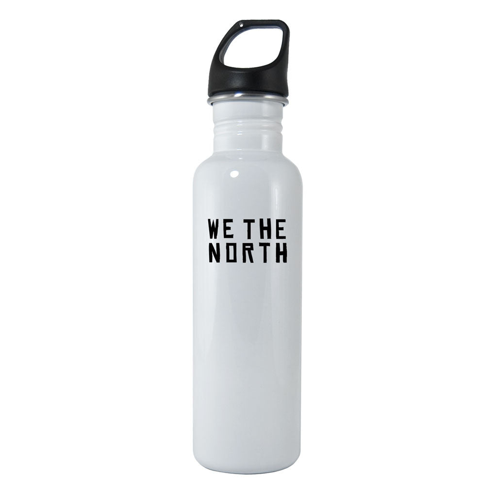 Toronto Raptors We The North 16oz. White Stainless Steel Water Bottle