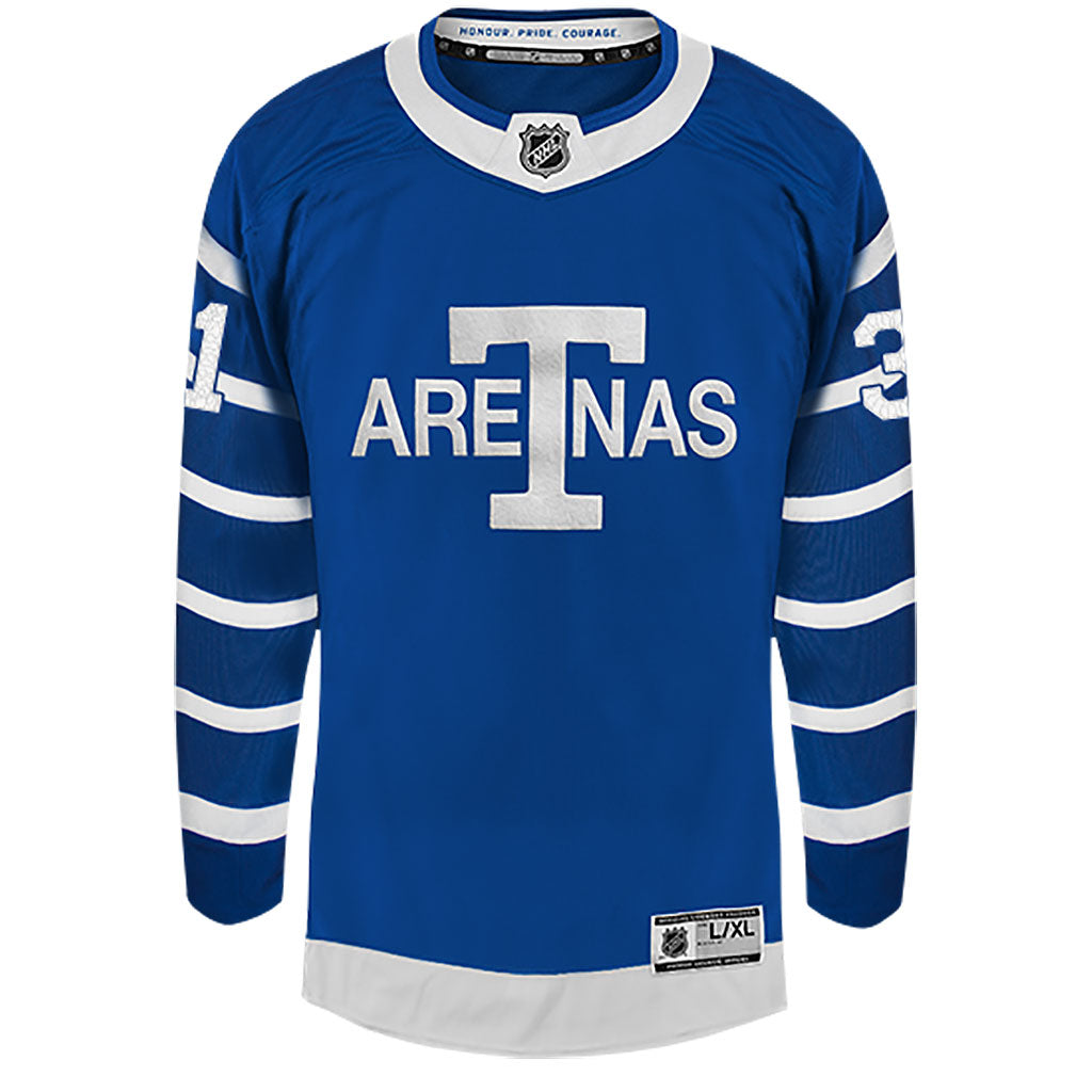 Toronto Maple Leafs Youth Andersen Arenas Jersey