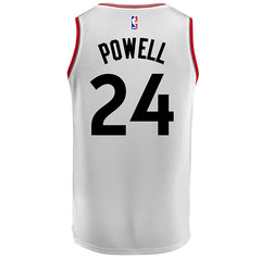 Toronto Raptors Youth Swingman Association Powell Jersey