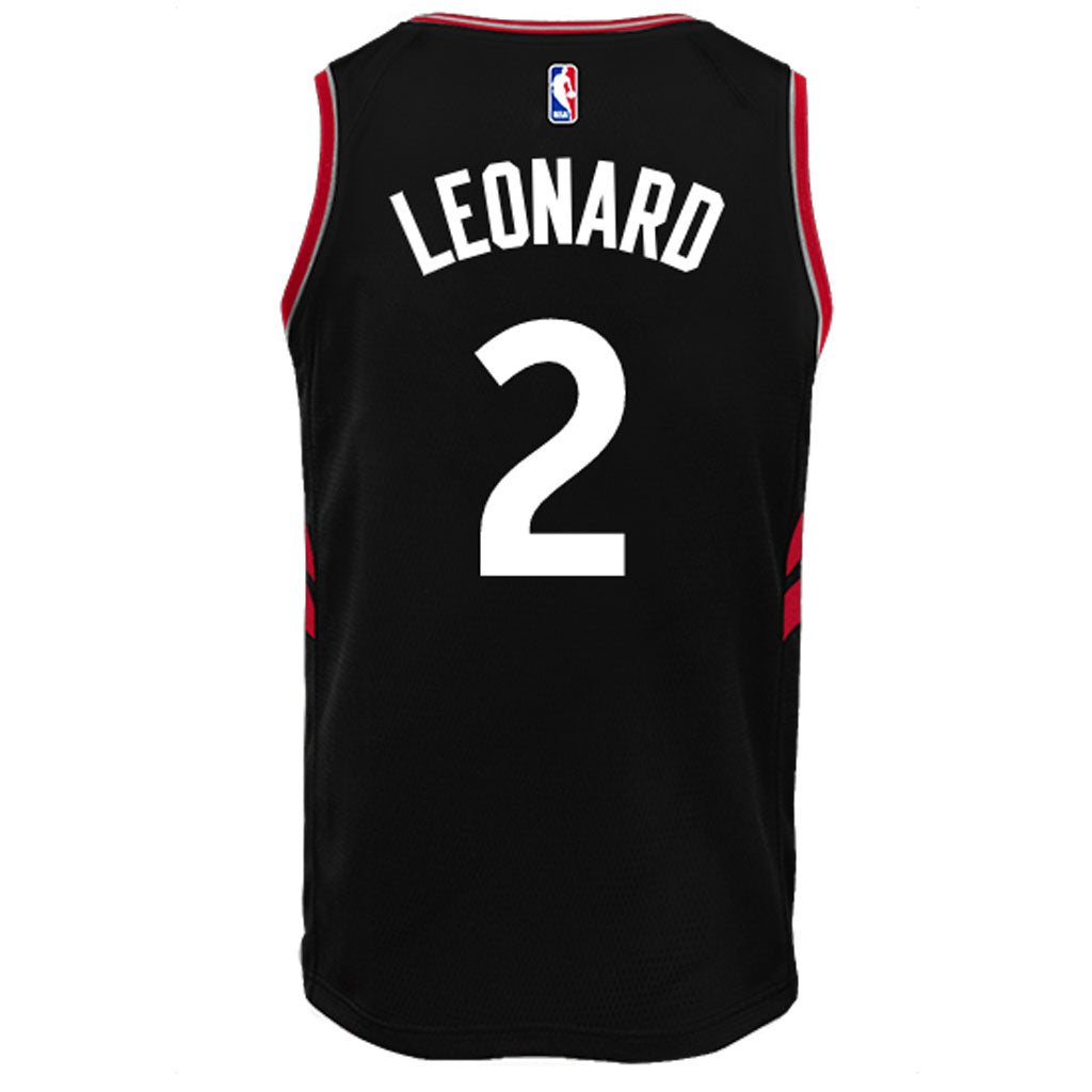 Toronto Raptors Youth Swingman Leonard Statement Jersey