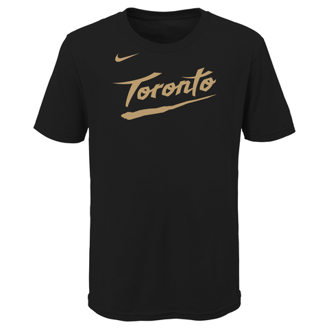 Raptors NBA Youth City Edition Wordmark Tee