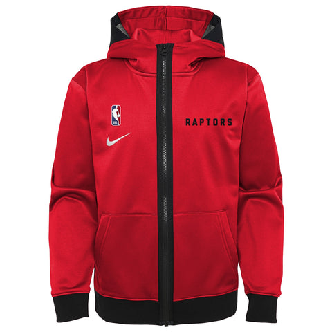 Raptors Nike Youth Full Zip Spotlight Hoody