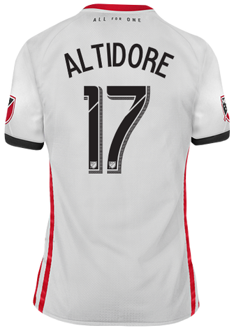 075d9545088 Toronto FC Adidas Men s 2019 Authentic Away Jersey - ALTIDORE ...