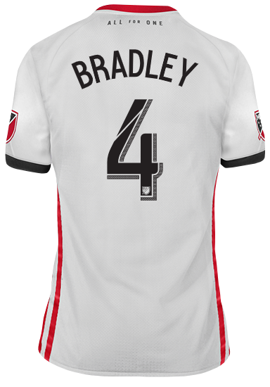 best loved ff270 e4072 Toronto FC Adidas Men's 2019 Authentic Away Jersey - BRADLEY