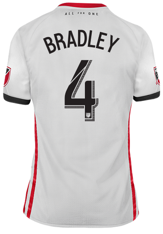 Toronto FC Adidas Men's 2019 Authentic Away Jersey - BRADLEY