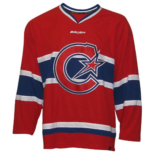 Montreal Les Canadiennes Bauer 900 Series Custom Home Jersey - shop.realsports