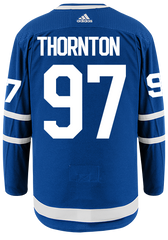 Maple Leafs Adidas Authentic Men's Home Jersey - THORNTON