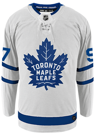 Maple Leafs Adidas Authentic Men's Away Jersey - THORNTON