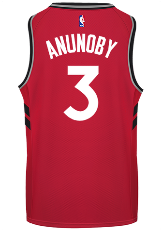 Raptors Nike Men's Swingman Icon Jersey - ANUNOBY