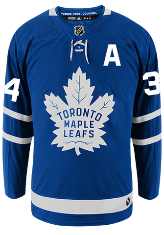 Maple Leafs Adidas Authentic Men's Home Jersey - MATTHEWS
