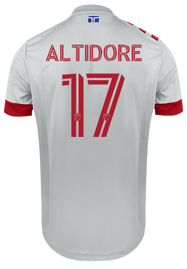 Toronto FC Adidas Men's 2020 Authentic Unity Jersey - ALTIDORE
