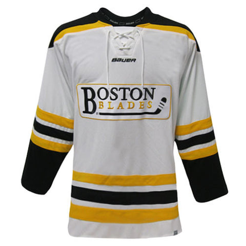 Boston Blades Bauer 900 Series Away Jersey