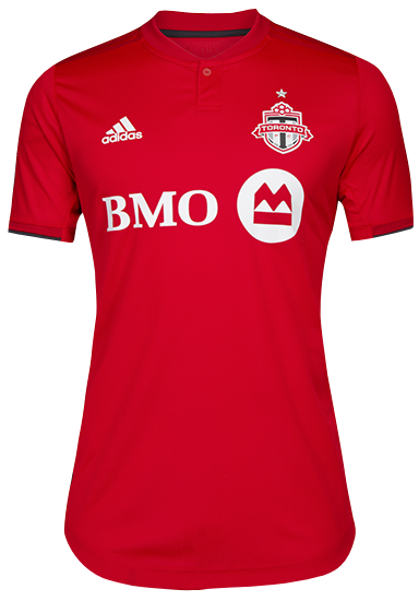 Toronto FC Adidas Men's 2019 Authentic Home Jersey - BRADLEY