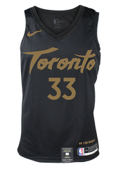 Raptors Nike Men's Swingman 2019 City Jersey - GASOL