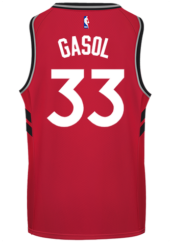 Raptors Adult Swingman Icon Jersey - GASOL