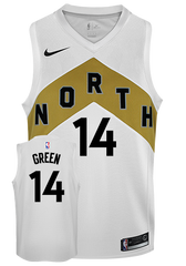Raptors Nike Men's Swingman OVO City Edition Jersey - Green