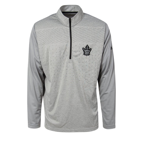 Maple Leafs Adidas Men's Team Lightweight 1/4 Zip