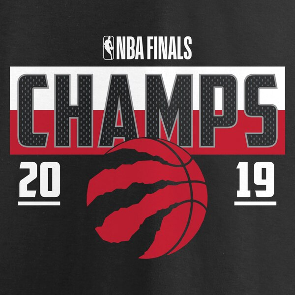 Raptors Fanatics Ladies 2019 NBA Champs Inner Drive Tee