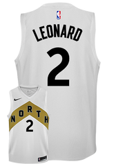 Raptors Nike Men's Swingman OVO City Edition Jersey - Leonard