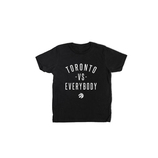 Raptors Peace Collective Youth Toronto vs. Everybody Tee