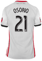 Toronto FC Adidas Men's 2019 Authentic Away Jersey - OSORIO