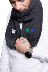 Maple Leafs Roots St Pats Knit Scarf