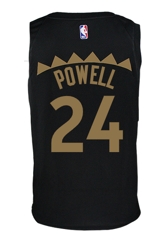 Raptors Nike Men's Swingman 2019 City Jersey - POWELL