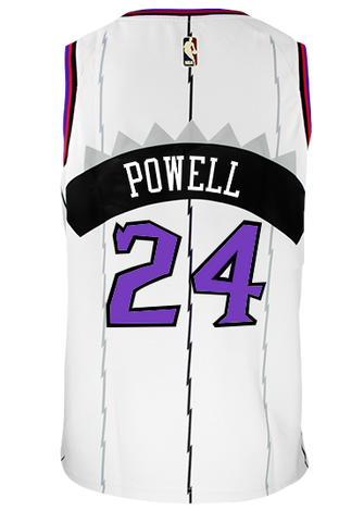 Raptors Nike Youth Swingman HWC Jersey - POWELL