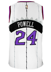 Raptors Nike Men's Swingman HWC Jersey - POWELL