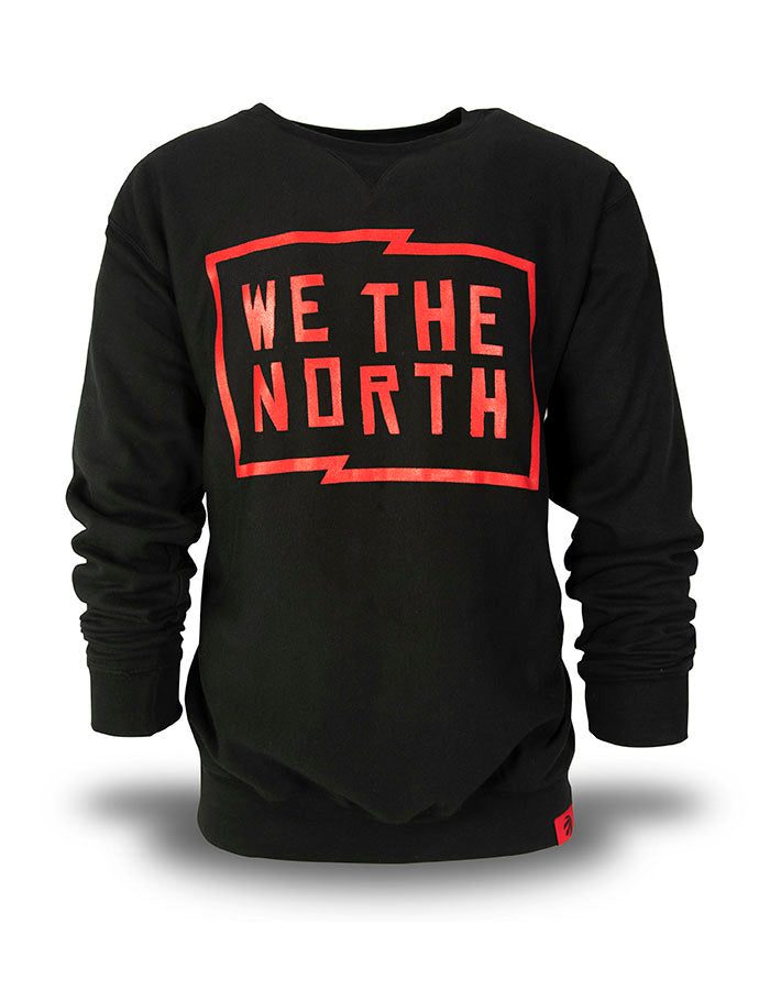 Raptors Peace Collective Men's 'We the North' Crew Sweater