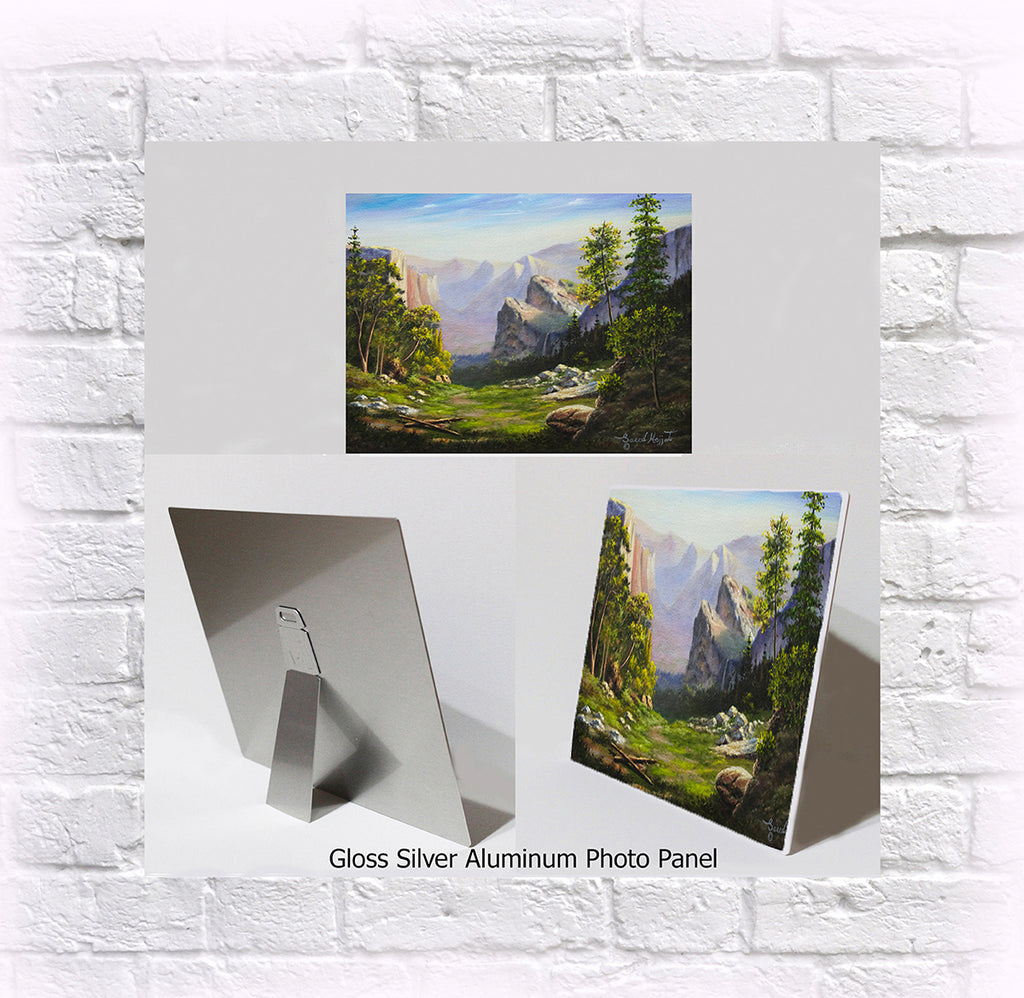"NEW ITEM! 8"" X 10"" ALUMINUM ART PANEL "" Matterhorn"""
