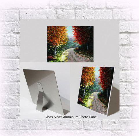 "NEW ITEM! 8"" X 10"" ALUMINUM ART PANEL ""Sister of Fall"""