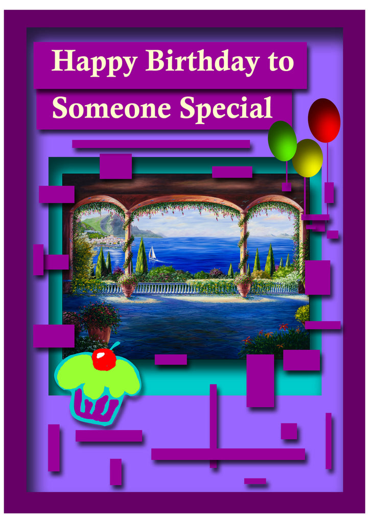Greeting Card Plaque - Happy Birthday to Someone Special