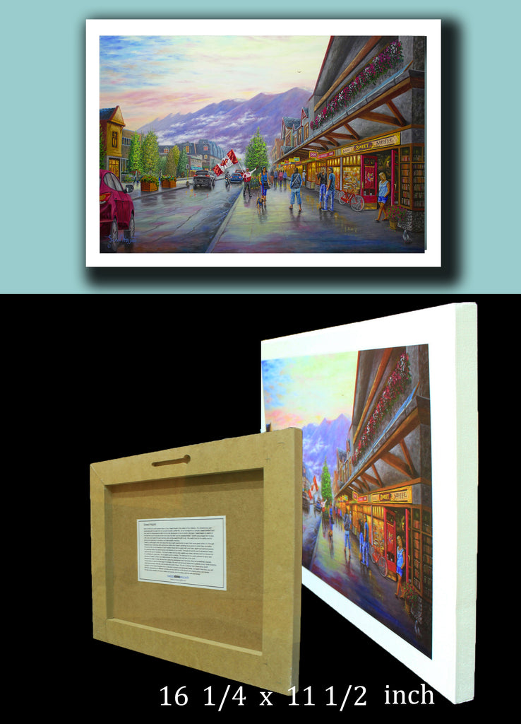 "3D Plaquemounts ""Beauty of Banff"""