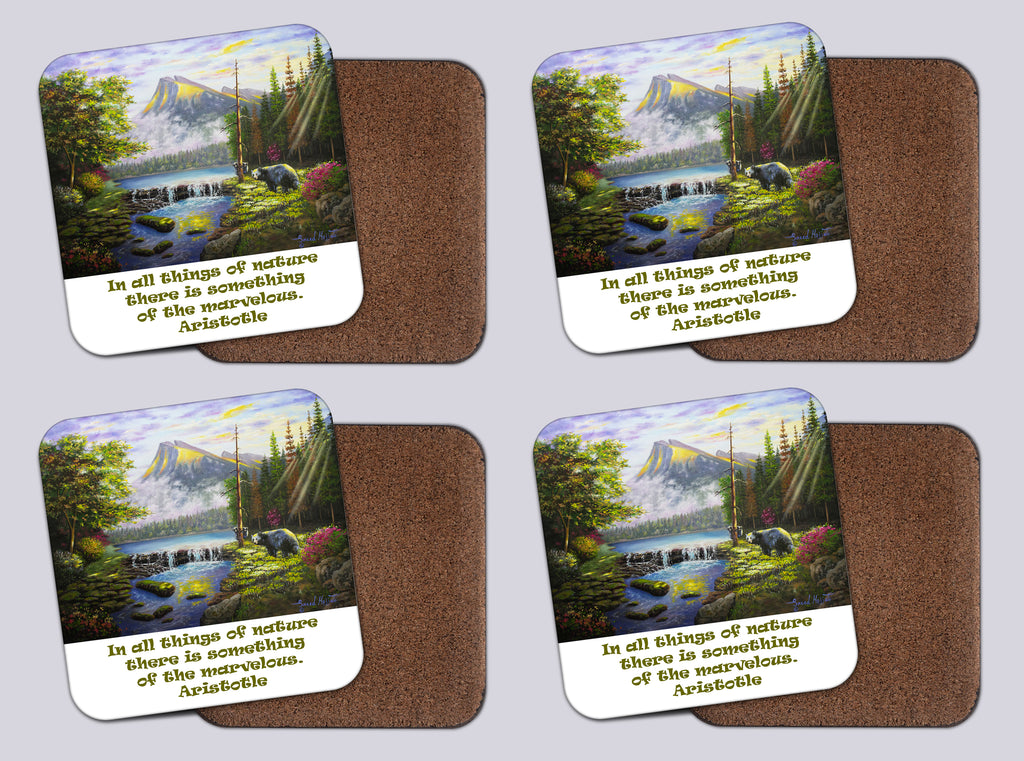 "Coasters with Cork # 24 ""Rundle Rendezvous"""