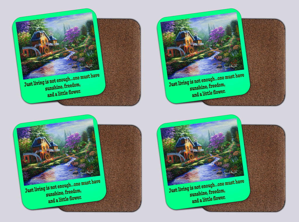 "Coasters with Cork #38 ""A Simpler Time"""